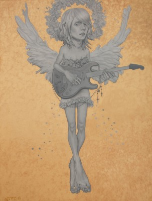 Guitar Angel, 2011, Oil on Canvas, 170x140cm