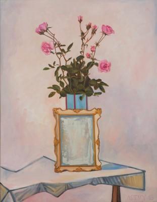 Mirror Mirror, 2013, Oil on Canvas, 90x70cm