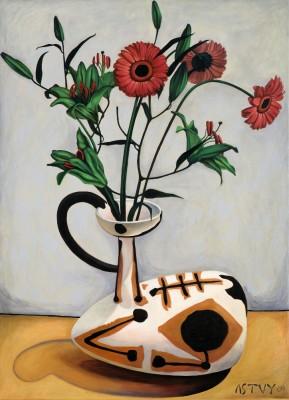 Flores, 2009, Oil on Canvas, 110x80cm
