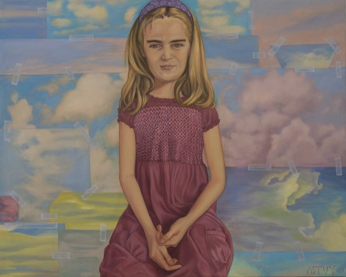 Lena, 2009, Oil on Canvas, 80x100cm