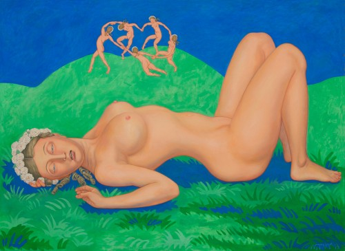 Horace, Mon Amour, 2013, Oil on Canvas, 125x170cm