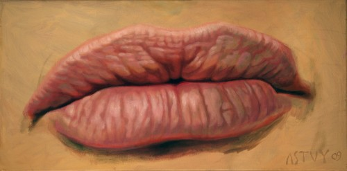 My Mouth, 2009, Oil on Canvas, 30x60cm