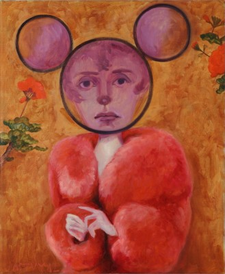 Miss Little, 2012, Oil on Canvas, 42x51cm