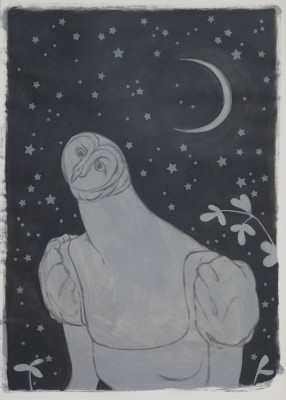 Night Owl, 2011, 70x50cm
