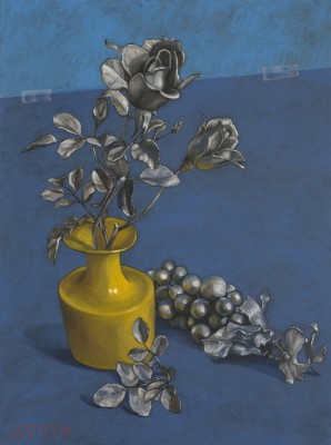 Yellow Vase, 2008, Oil on Canvas, 80x60cm