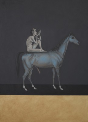 Night Rider, 2010, Oil on Canvas, 115x80cm